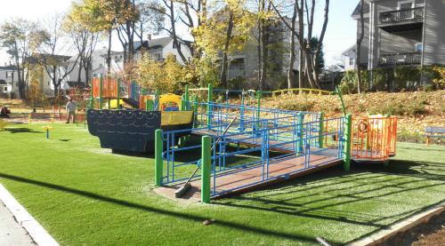 All-inclusive Playground at Coytemore Lea Park